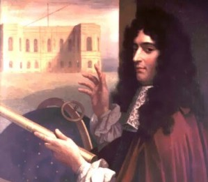 Giovanni Cassini tried to name the moons of Saturn for Louix XIV of France