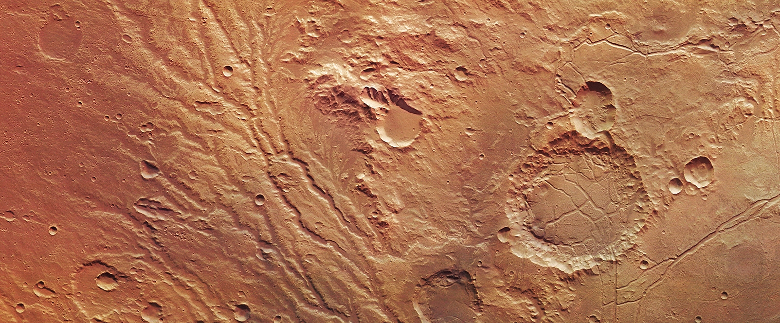 The Arda Valles region of Mars