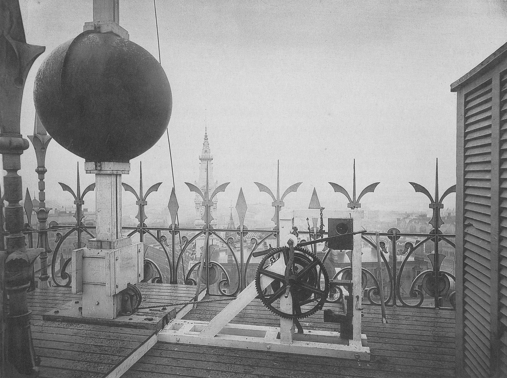 1881 Boston time ball