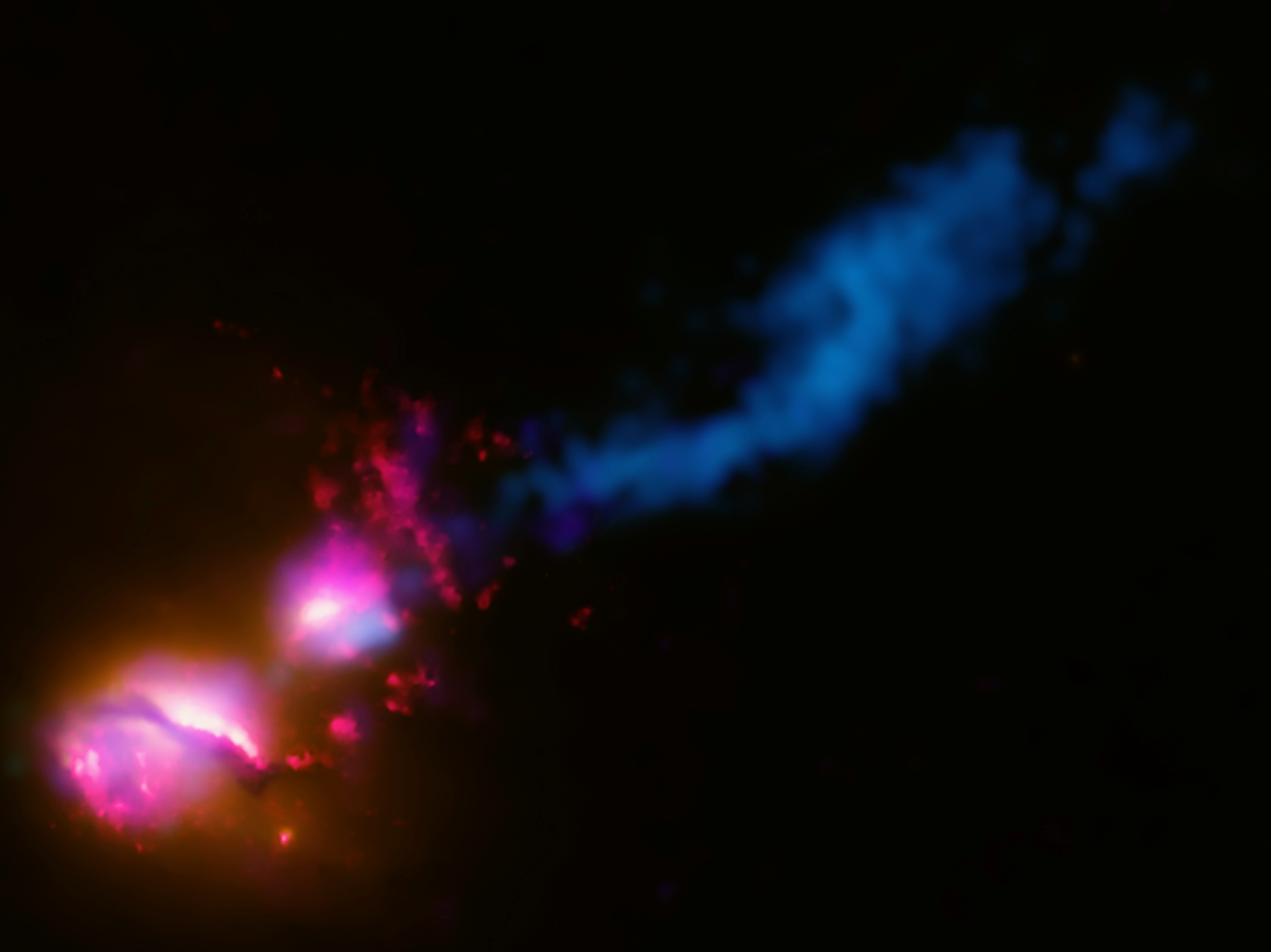 multi-wavelength view of 3c 321