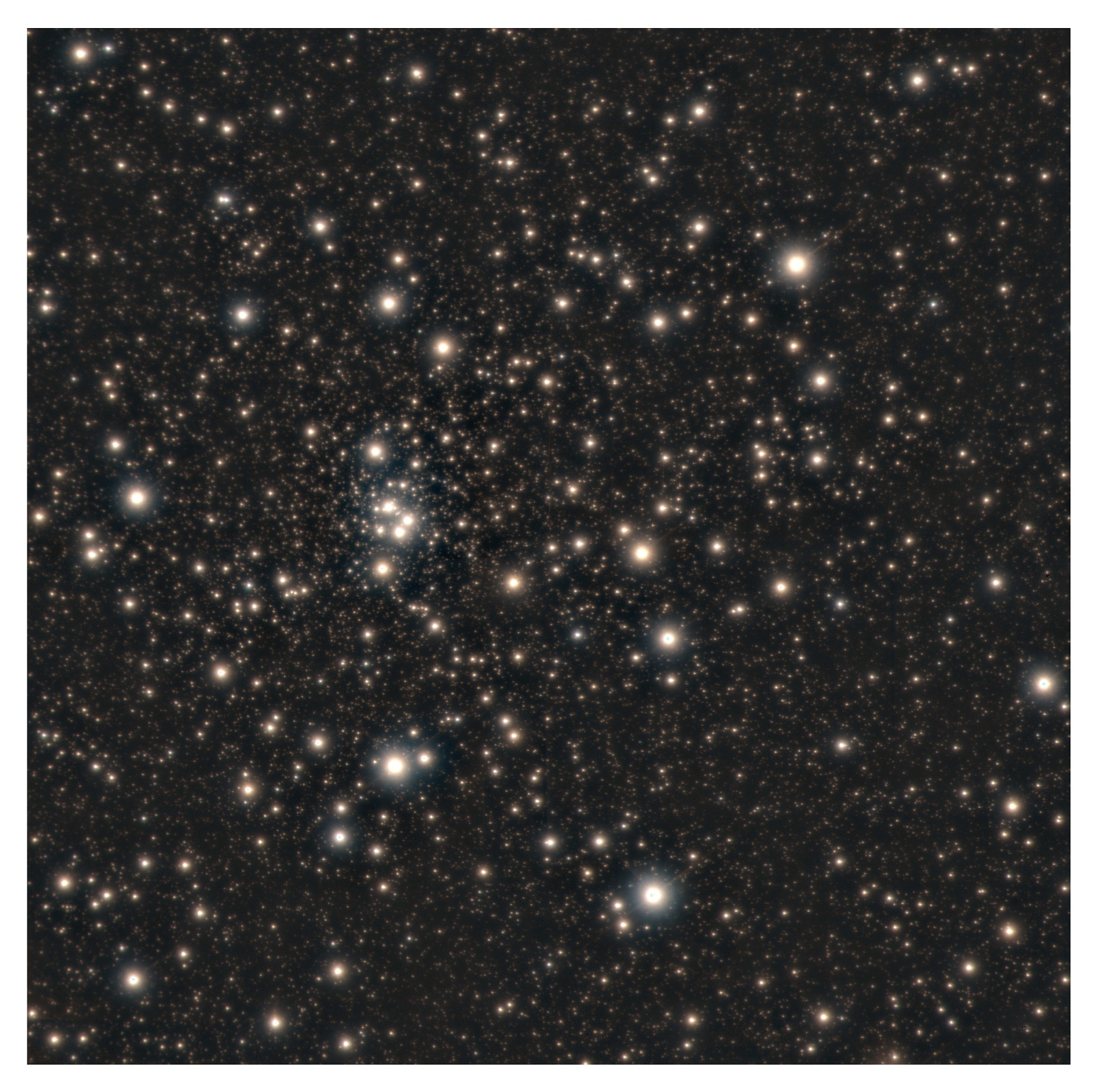 star cluster HP 1, near the center of the Milky Way