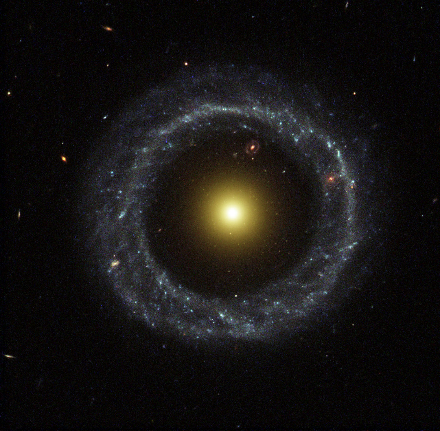 Hoag's Object, a ring galaxy