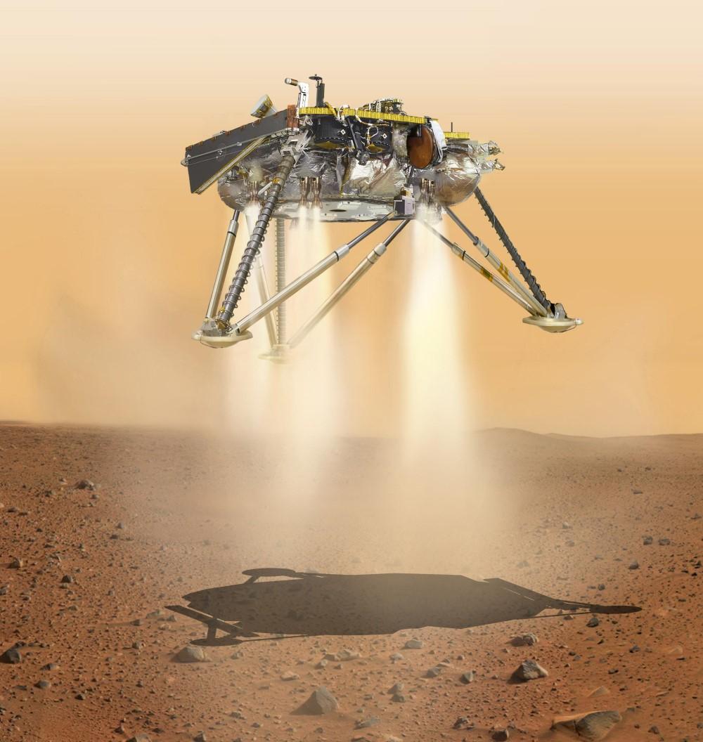 InSight lands on Mars