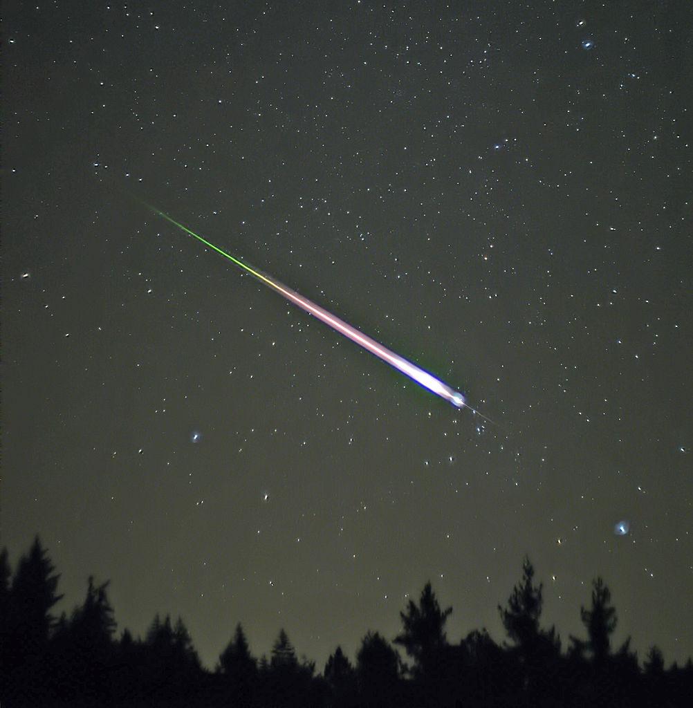 leonid meteor, 2009
