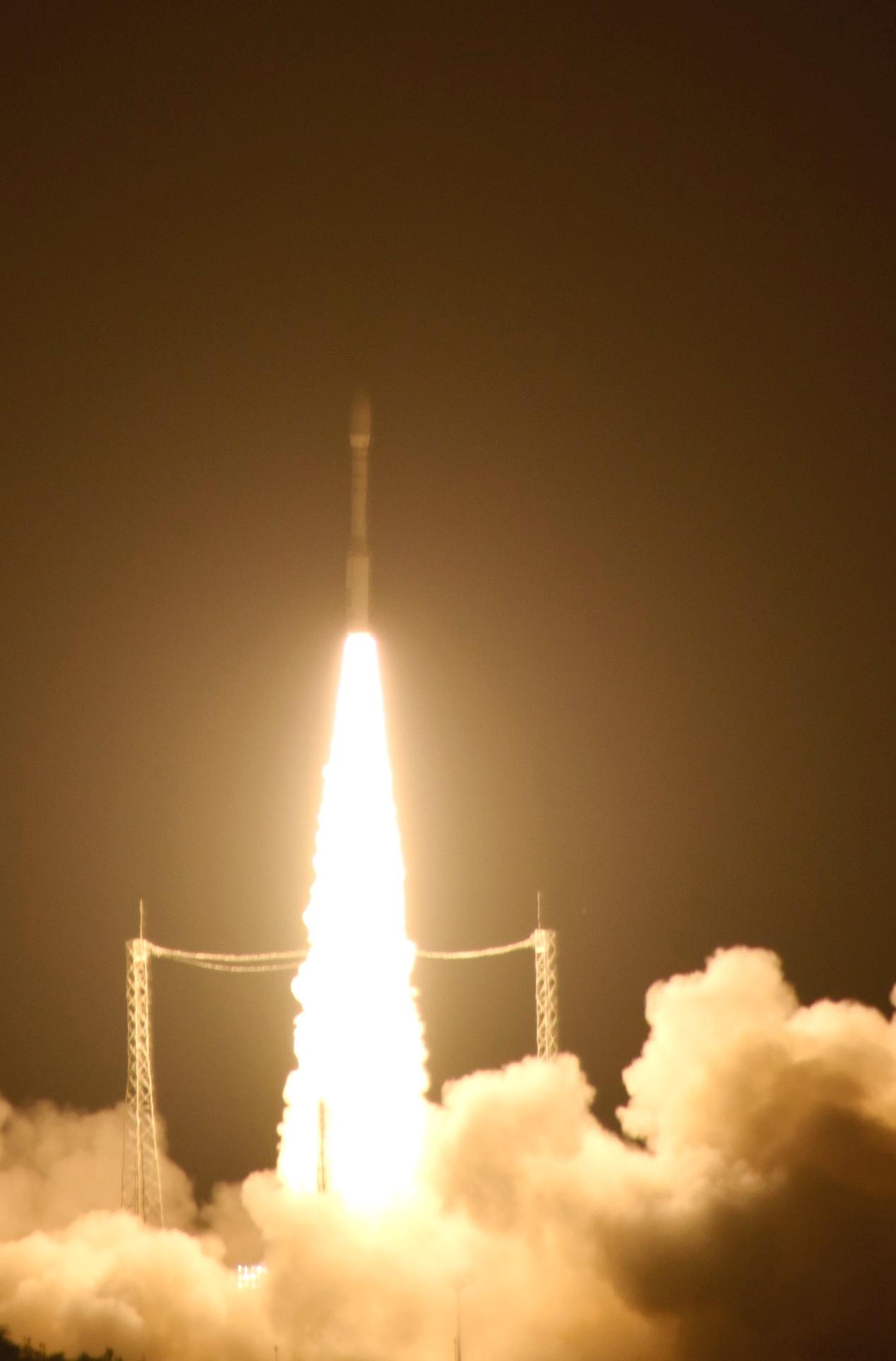 Launch of Lisa Pathfinder