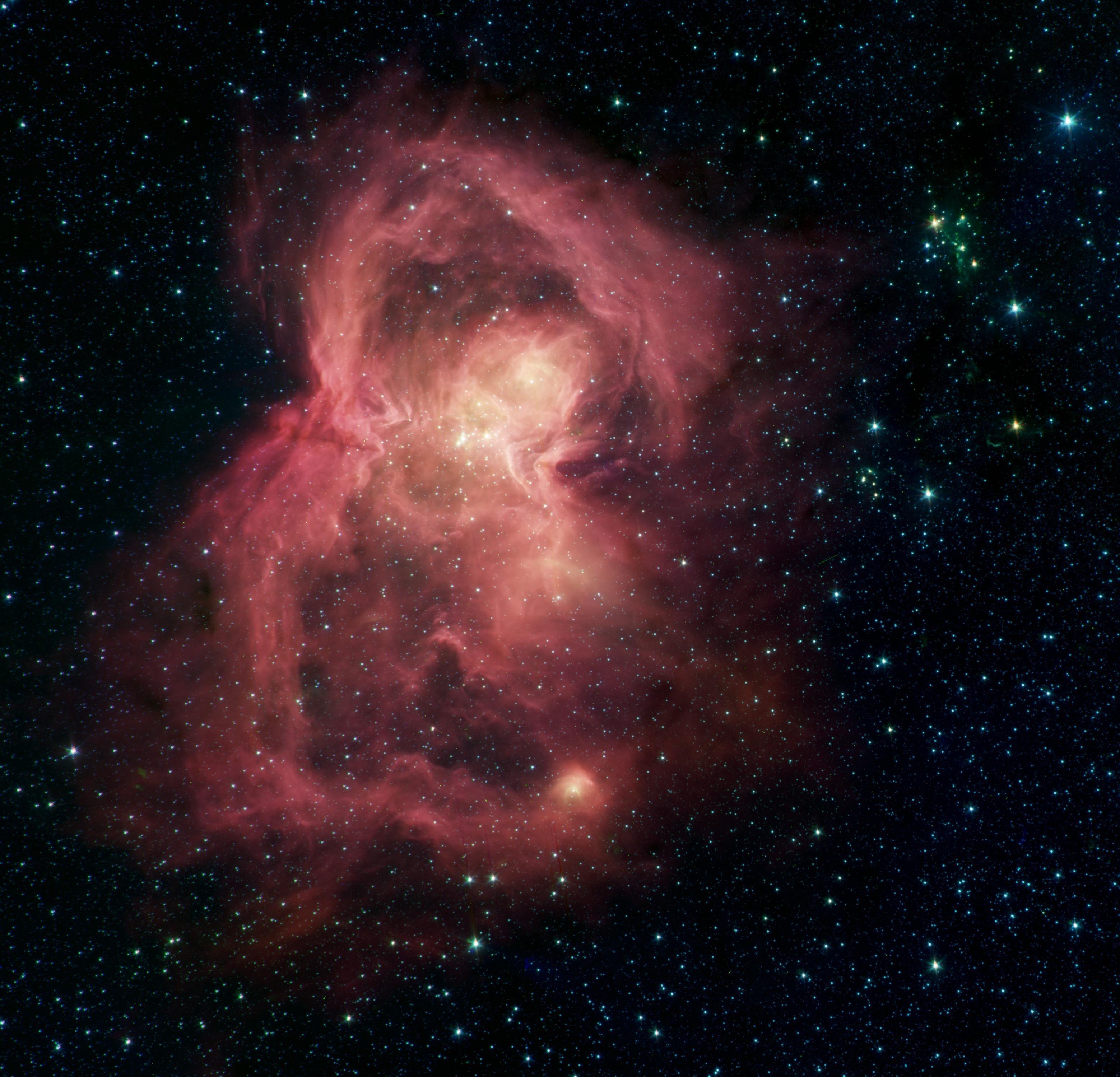 W40 stellar nursery