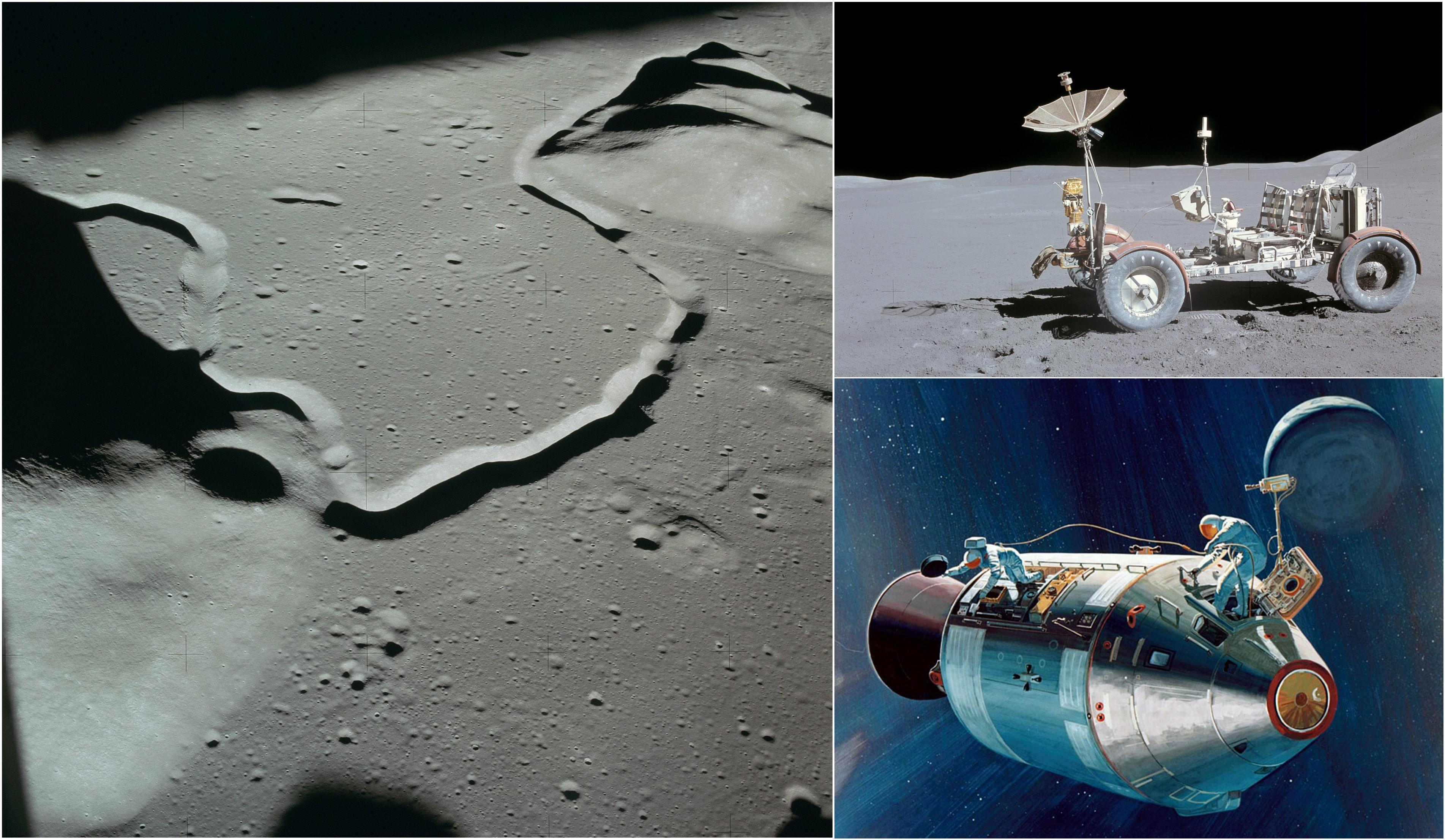 Views from Apollo 15