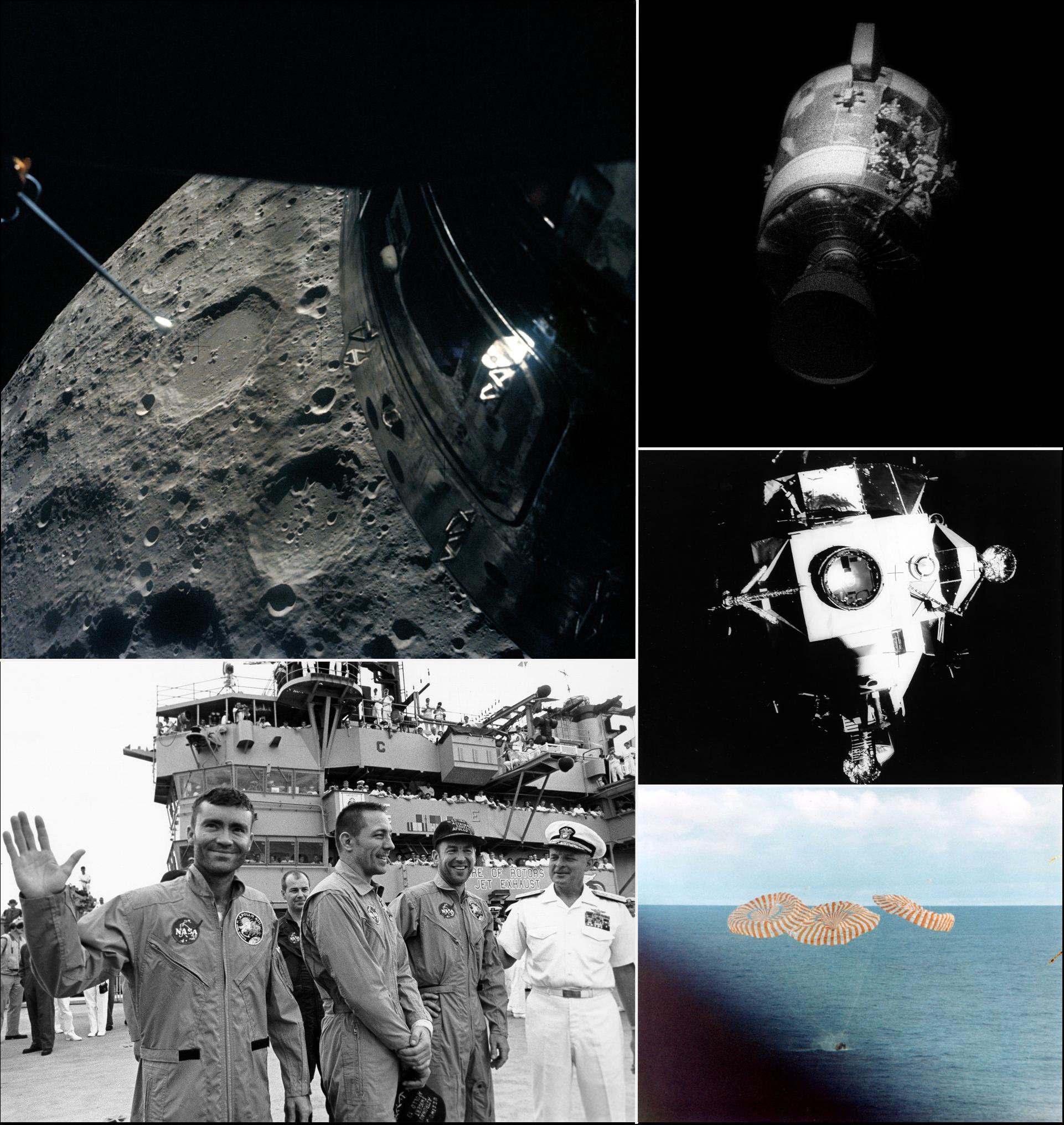 Images of Apollo 13