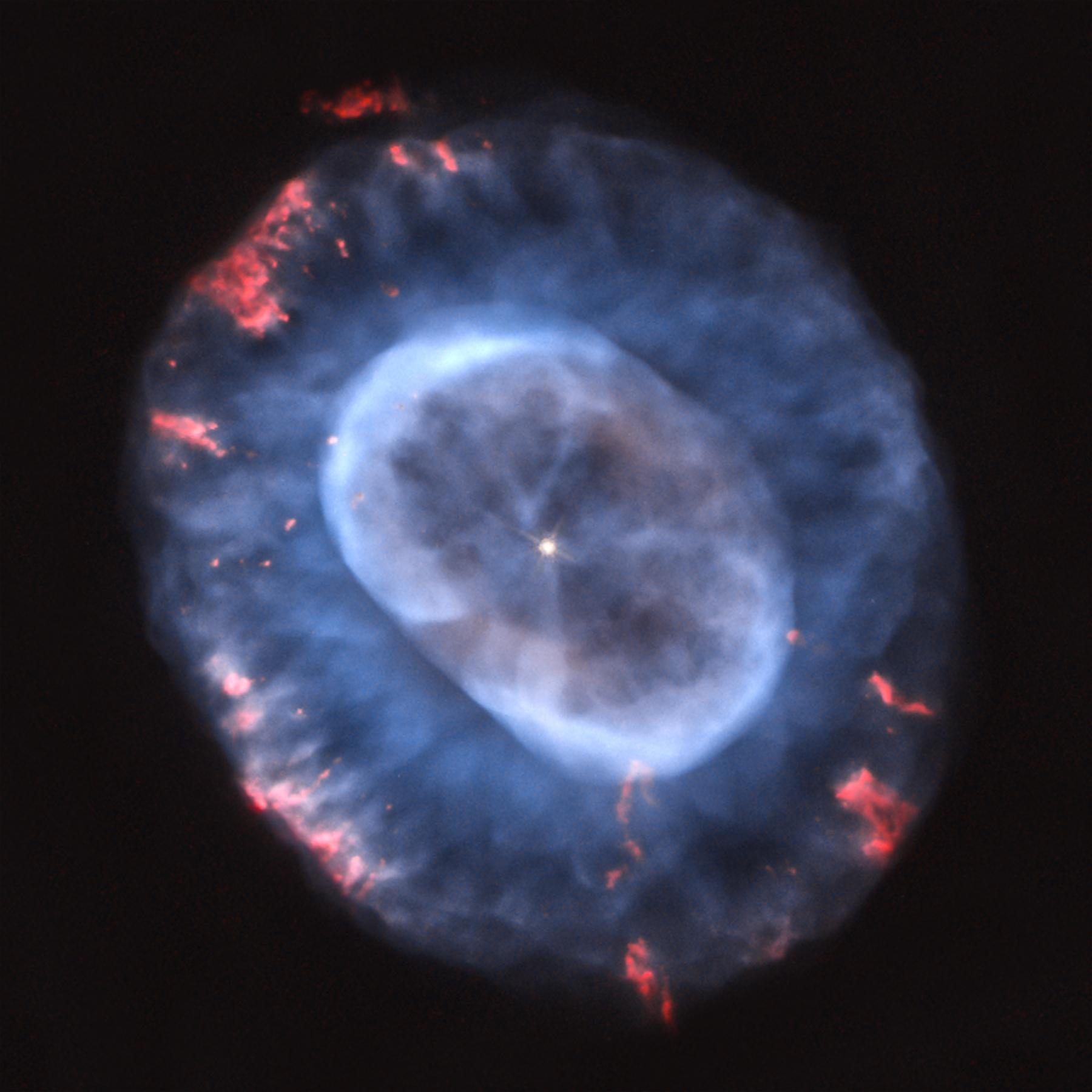 The Blue Snowball Nebula