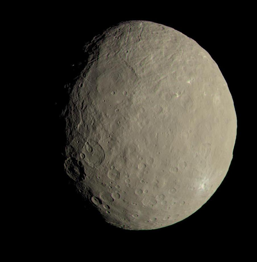 True-color view of Ceres