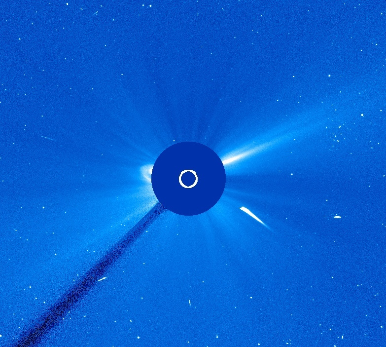 SOHO view of a Kreutz Sun-grazing comet
