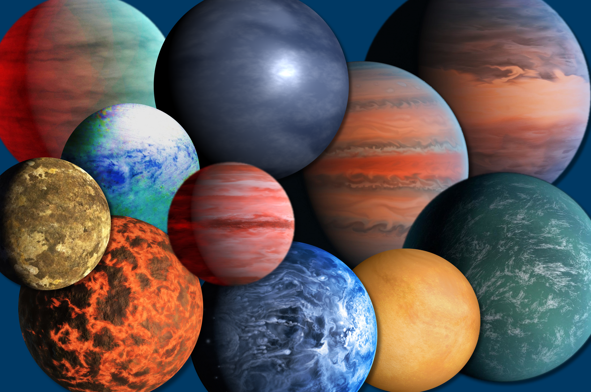 Exoplanets galore