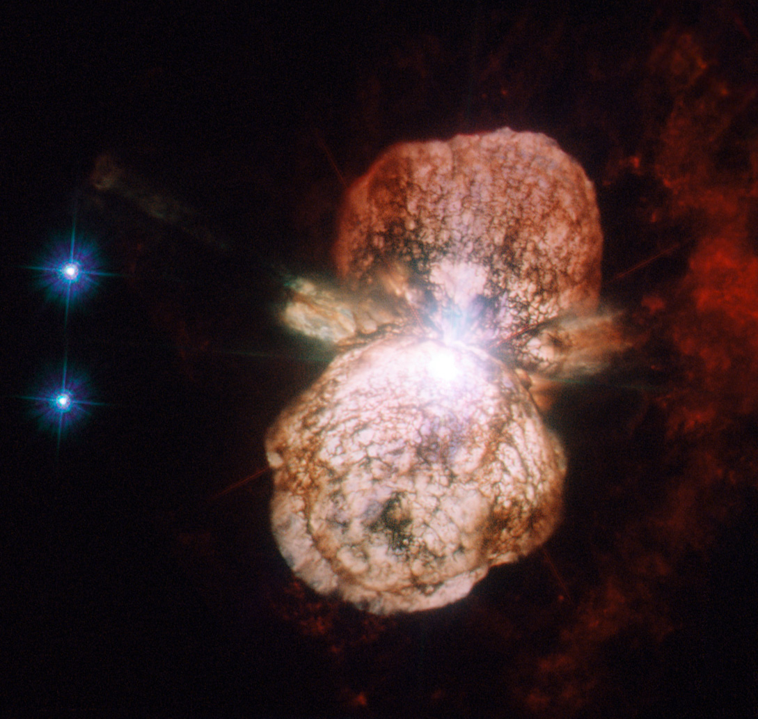 Hubble view of the Eta Carinae system