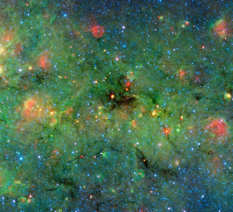 Infrared view of the interstellar medium