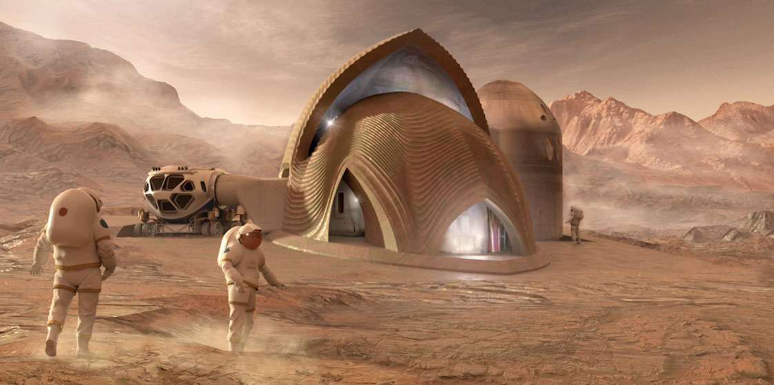Possible Mars habitat