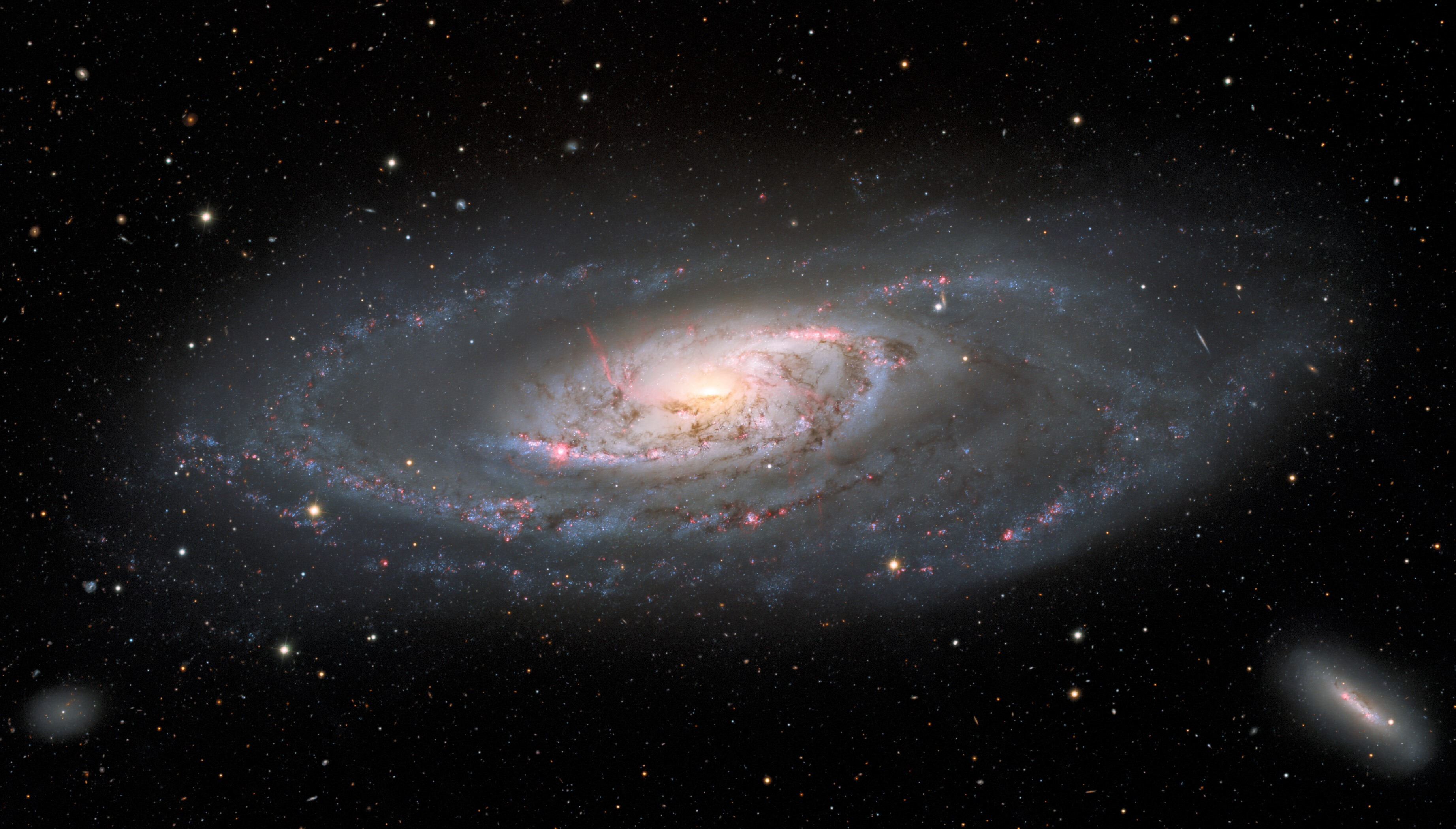 New view of Messier 106