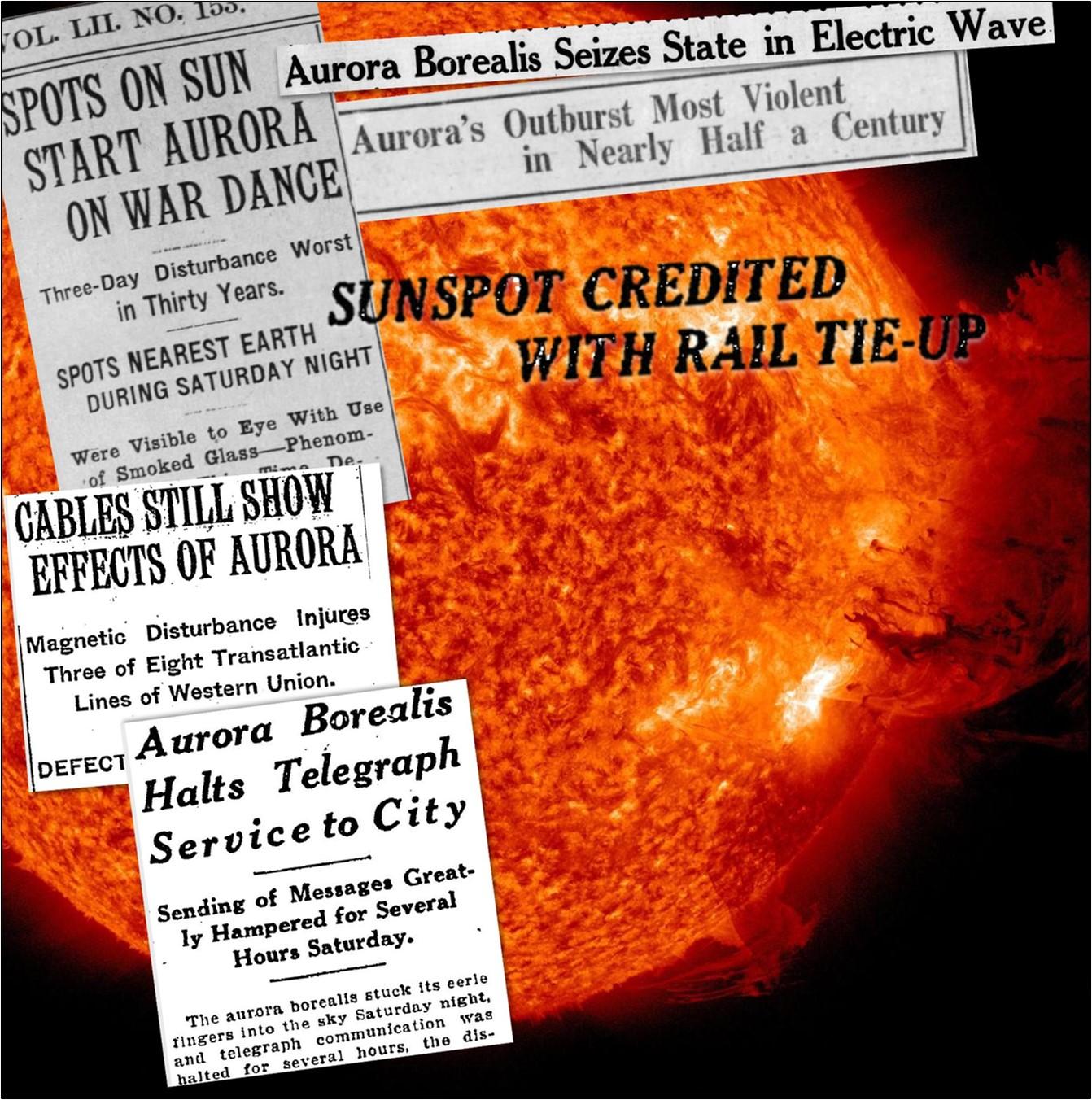 New York Railroad Storm, 1921