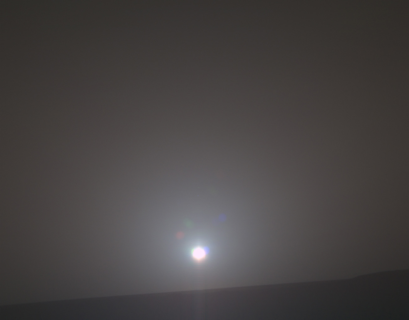 Sunrise on Mars, February 16, 2018