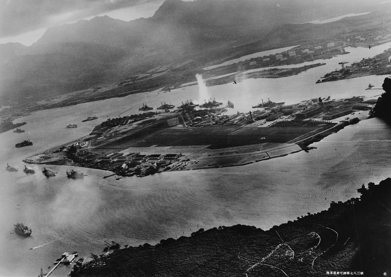 Attack on Pearl Harbor, December 7, 1941