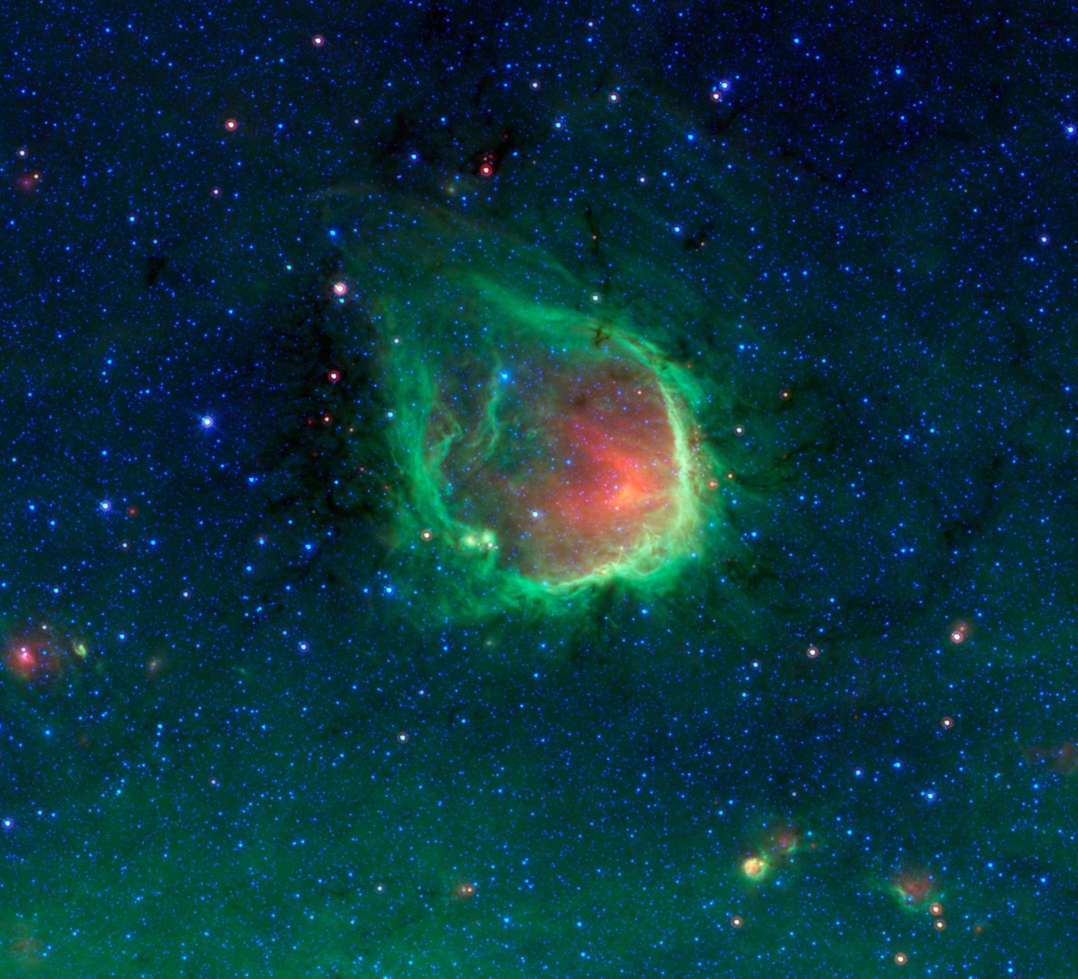 rcw 120, a busy stellar nursery