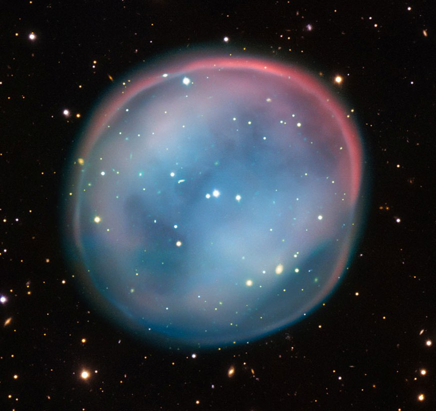 The Southern Owl Nebula, the last gasp of a dying star