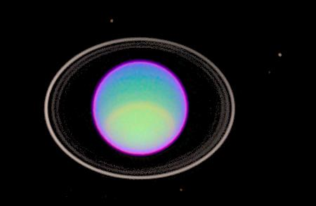 hubble space telescope view of rings of uranus
