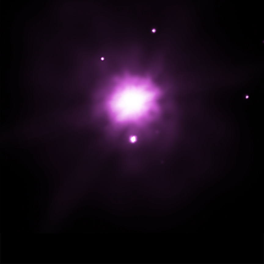 X-Ray image of VLA J2130+12