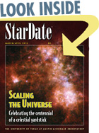 cover of StarDate magazine