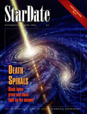 StarDate magazine Nov/Dec 2004 cover
