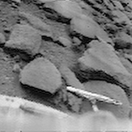 Rocks around Venera 9 lander