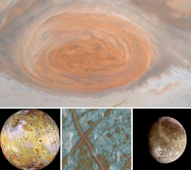 Galileo images of Jupiter