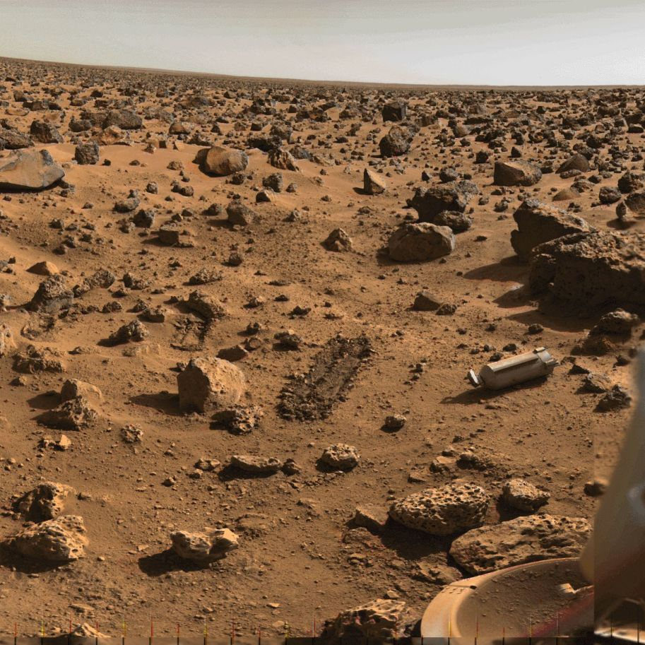 Viking view of Mars