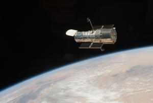 Hubble Space Telescope after its final servicing mission