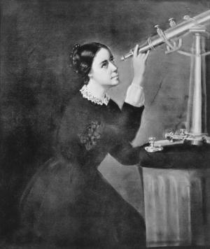 Maria Mitchell, 1851