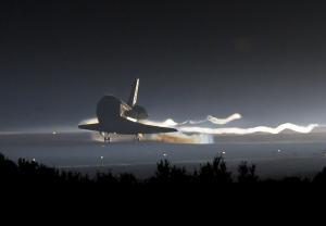 Atlantis landing at July 2011 ends the shuttle program