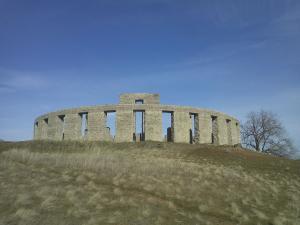 Stonehenge replica in the state of Washington