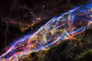 Segment of Veil Nebula