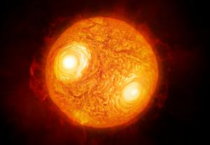 artist's concept of antares