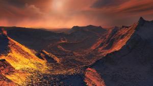 Exoplanet Barnard's Star b
