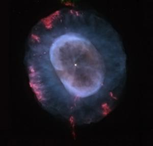 Hubble view of NGC 7662, a planetary nebula