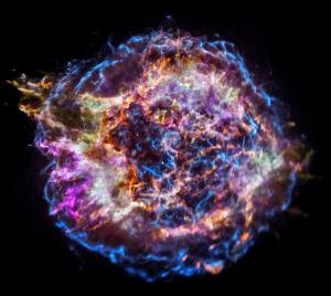 X-ray view of Cassiopeia A