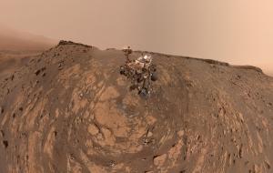Self-portrait of the Mars rover Curiosity