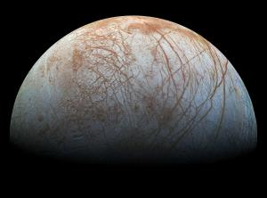 Galileo view of Europa
