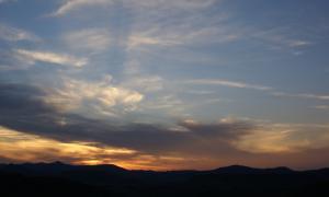 Twilight over McDonald Observatory