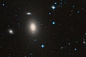 Elliptical galaxy NGC 1600