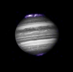 Auroras on Jupiterk