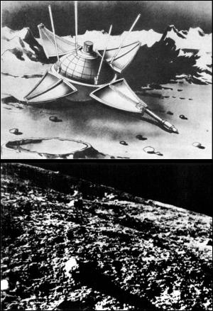 Luna 9, February 1966