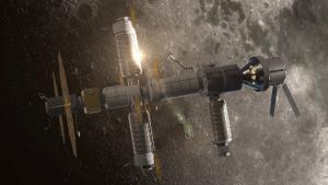 One concept for lunar Gateway