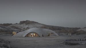 Proposed Mars habitat
