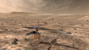 Artist's concept of the Mars 2020 helicopter